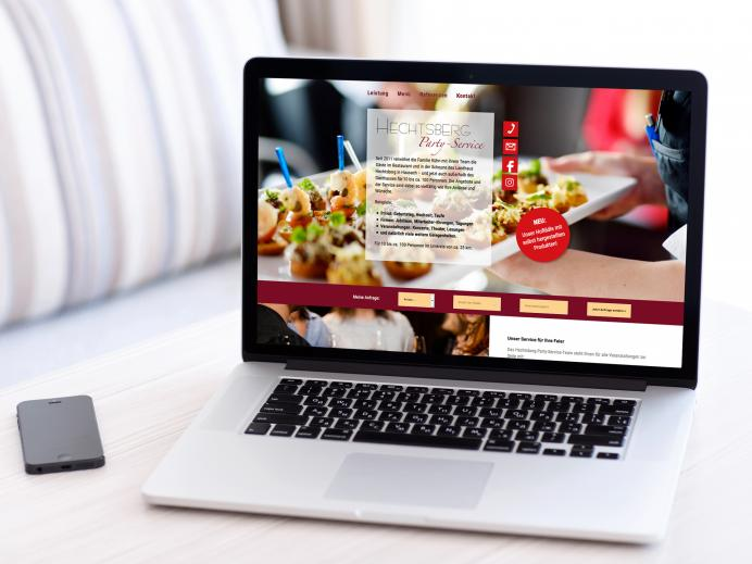 Website, Hechtsberg Partyservice