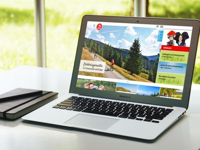 Internetseite infobaum.eu