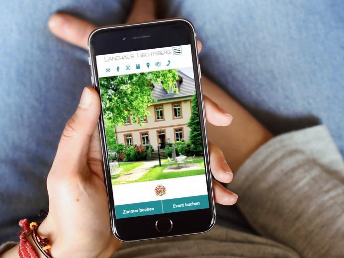 Relaunch Internetseite Landhaus Hechtsberg