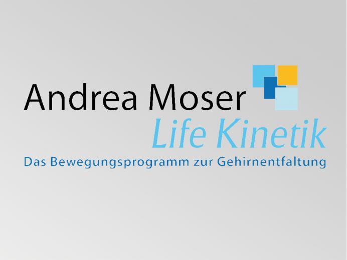 Logoentwicklung Andrea Moser Lifekinetik
