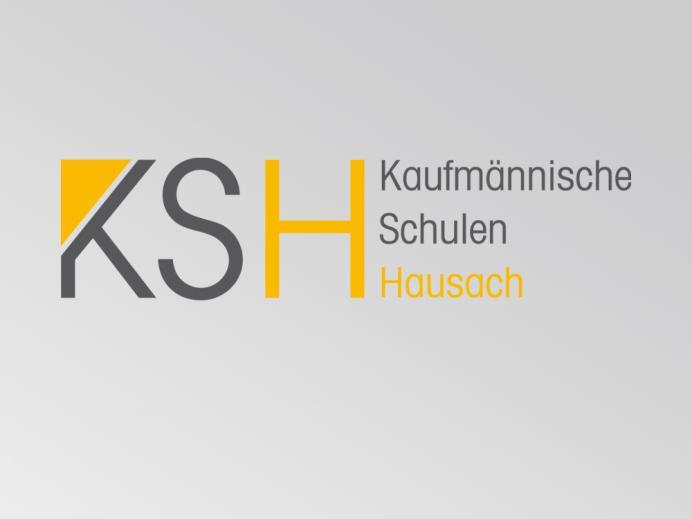 Logoentwicklung Kaufmännische Schulen Hausach