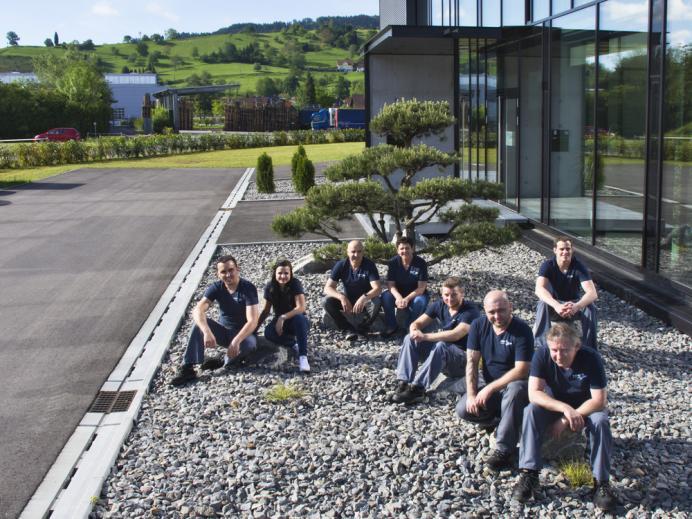 HMT-PZ, Steinach, Team