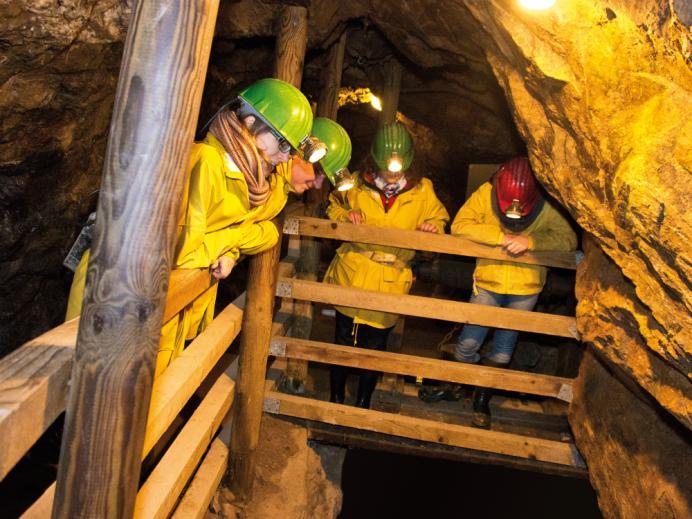 Führung in der Grube Wenzel