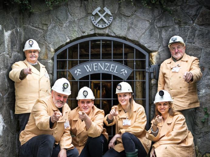 Erlebnisführer-Kampagne für die Grube Wenzel