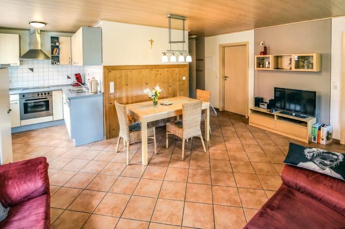 Prinzbachhof Ferienwohnung Wohnzimmer