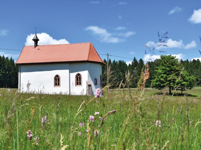 Roßbergkapelle Schenkenzell-Kaltbrunn, Außenansicht