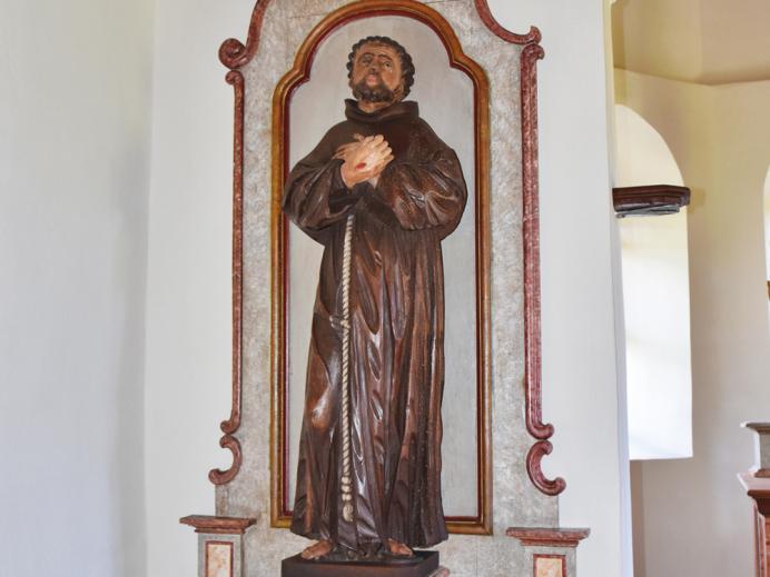 Rossbergkapelle Schenkenzell Figur