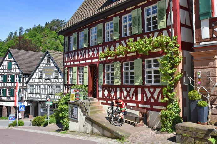 Zum weyßen Rößle, Altstadt Schiltach