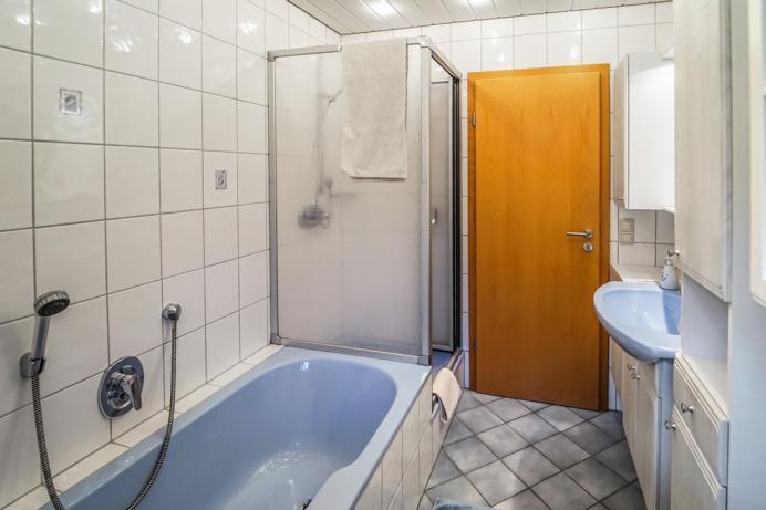 Schornhof Ferienwohnung Schwarzwaldblick Badezimmer