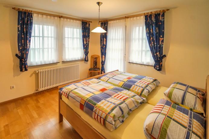 Schornhof Ferienwohnung Schwarzwaldblick Schlafzimmer