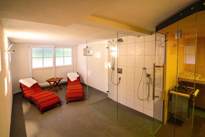 Vogtadeshof, Sauna