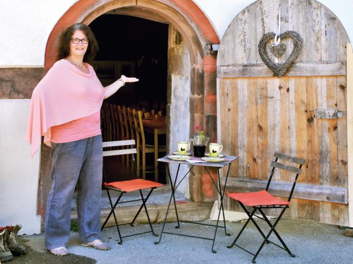 Tanja Mayer - Ihre Gastgeberin auf dem Vollmershof