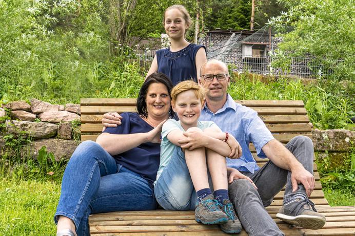 Waldfrieder Ferienwohnungen, Gastgeber-Familie