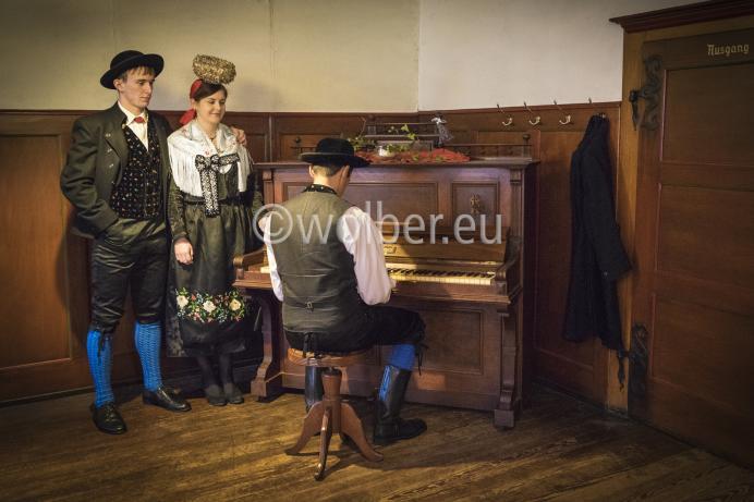 Fürstenberger Tracht - Klavierspieler