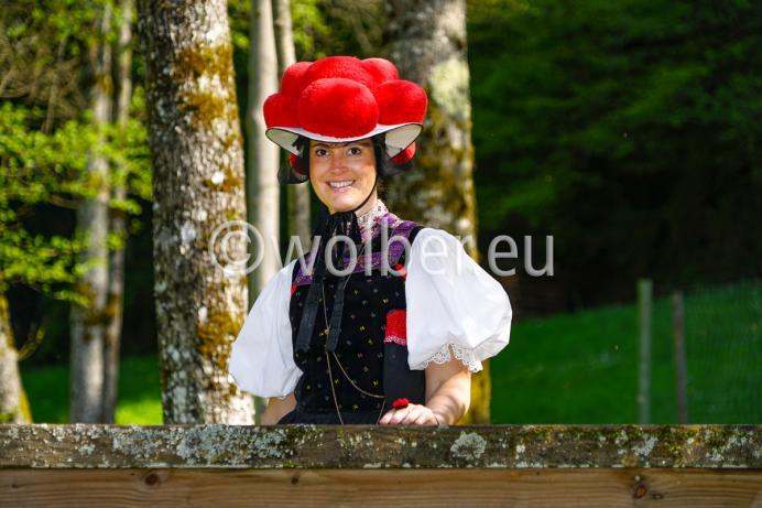 Der roter Bollenhut steht weltweit für den Schwarzwald