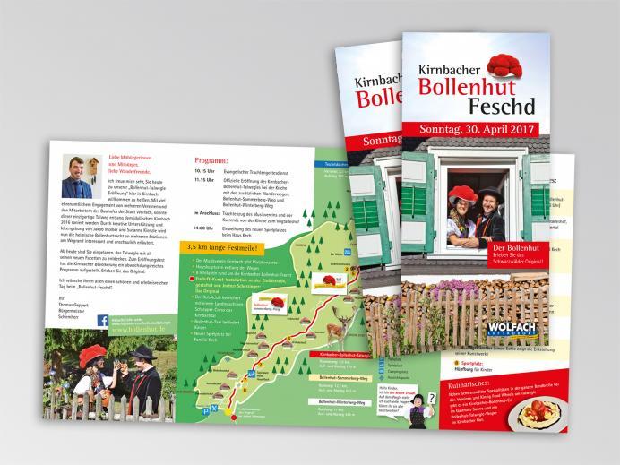 """Wolfach-Kirnbach: Bollenhut ist Thema des neugestalteten """"Karl-Wöhrle-Wegs"""""""