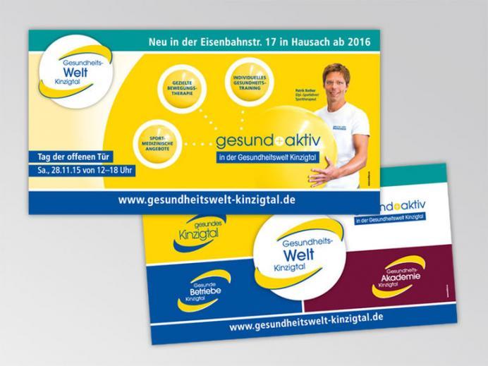 Werbestrategie Gesund Aktiv - Gesundes Kinzigtal Banner