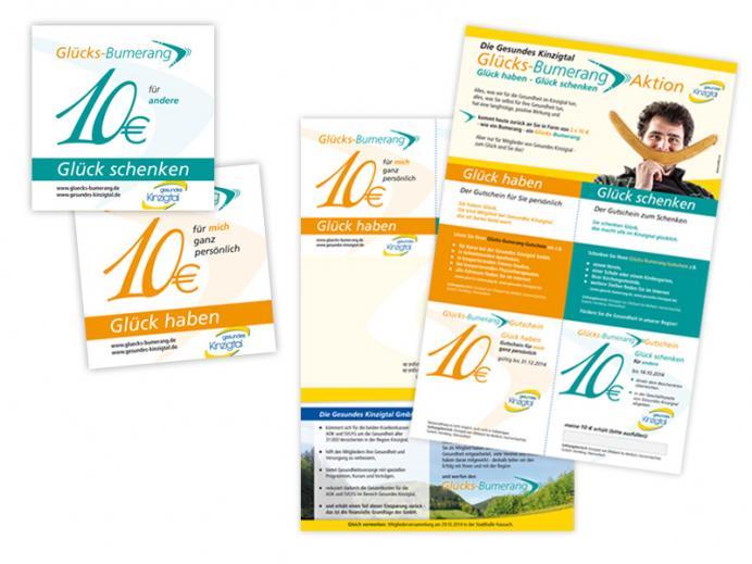 Werbestrategie Glücks-Bumerang-Aktion: personalisiertes Mailing