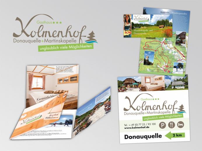 Kolmenhof an der Donauquelle + Martinskapelle - Logo und Druckprodukte