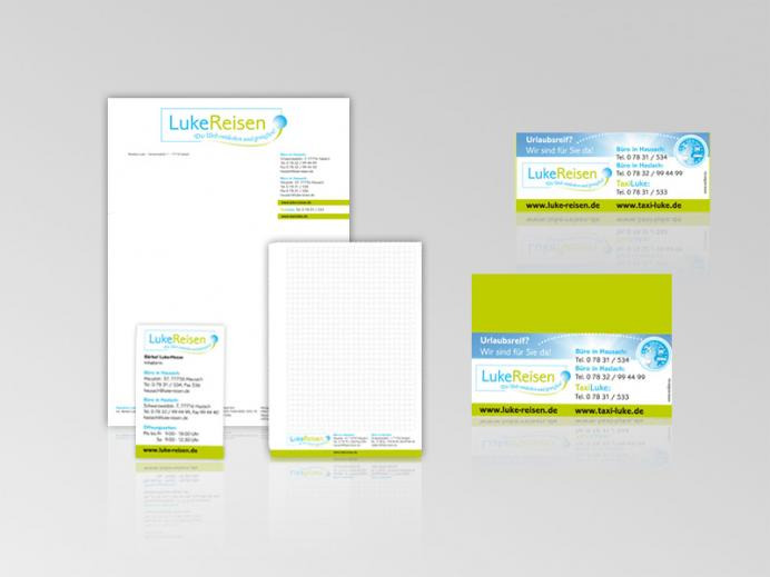 Werbestrategie Luke: Corporate Design